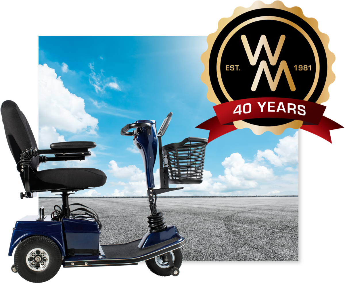 40 Years of Scooter Service