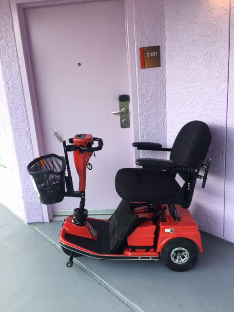scooter drop off